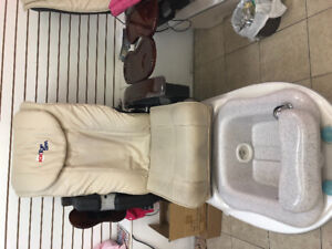 Pedicure chair for sale $500