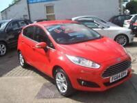 Ford Fiesta Manual Petrol ZETEC Red 2014 283 PETROL MANUAL 2014/64