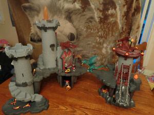 Chateau playmobile de dragon