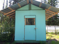 8'x12' Insulated Outdoor Shed