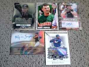 Baseball Medallion cards + Jersey and autograph + bonus