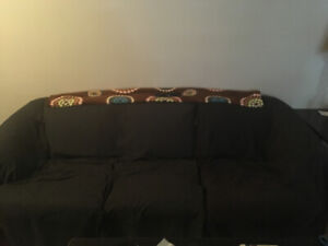 Ugly but cozy couch