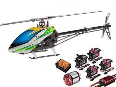 Align T-Rex 500X Dominator Super Combo Helicopter with DS530M/DS535M Metal Case