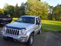 2004 Jeep Liberty SUV AWD- Tow Package