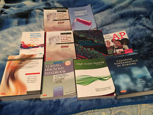 2nd and 3rd Year Nursing Textbooks