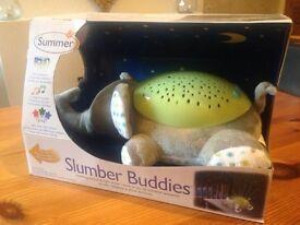 Slumber buddies baby light projector