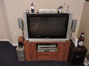 HD TV, Hometheater and stand