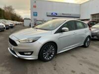 2017 Ford Focus ST-LINE 1.0T Ecoboost 125 ps, only 18397 miles Hatchback Petrol