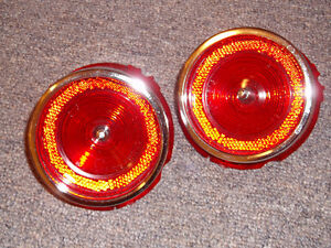 1965 IMPALA TAILLIGHT LENSES