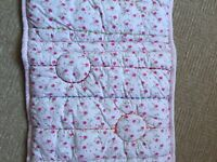 Cot bumpers -Mamas and Papas cot bumpers x 2
