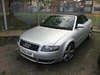 BREAKING Audi A4 Cabriolet 1.8T CVT 2005 Sport BREAKING FOR PARTS SPARES REPAIRS
