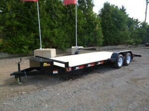 Deluxe Car Hauler by Miska Trailers