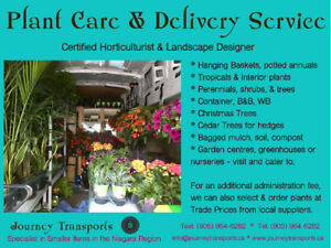 Niagara Plant care & delivery service - Annuals, Shrubs, Trees
