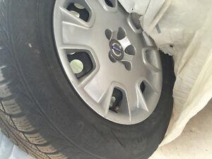 4x Jantes et pneus pour voiture Volvo XC-70