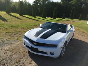 2012 Chevrolet Camaro WHITE Convertible