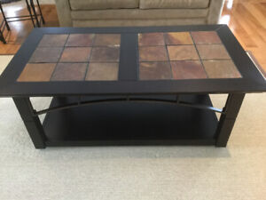 Love Seat & Coffee Table for Sale