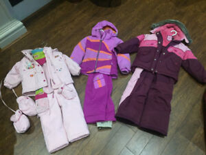 Children's snow suits