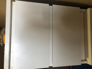 Sell 2-drawers IKEA nightstands.