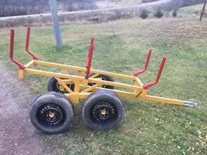 ATV Tandem Logging trailer **NEW**