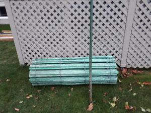 clôture pour haie