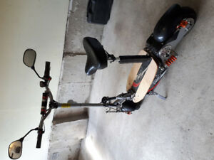 Hoverfly 1600watt 55km per hour e-scooter. Barely used. $800 OBO