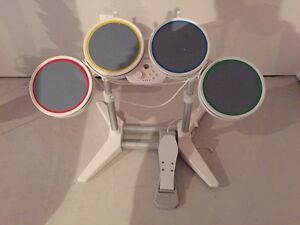 Wii rock band drum set