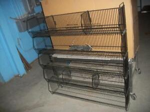 RACKING/TROLLEY/PUMP TRUCK/DUMP BINS/CASH REGISTER/FRIDGE,SCALES