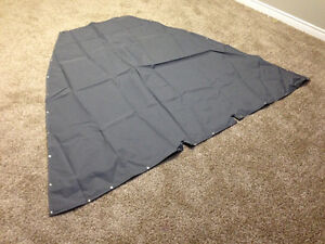 Boat top tracker 2007 bow cover