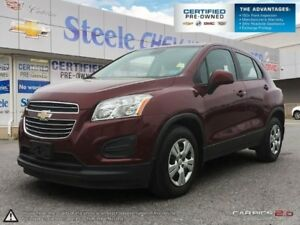 2016 CHEVROLET TRAX LS - One Owner!!  Immaculate Condition!