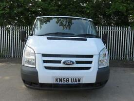 FORD TRANSIT T280 2.2 TDI SWB BLUETOOTH 3 SEATS