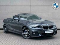 2018 BMW 2 Series 230i M Sport Convertible Convertible Petrol Automatic