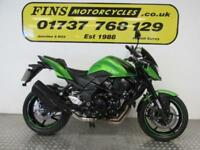 2012 Kawasaki ZR750N, Green, Low mileage, Excellent, Serviced, MOT, Warranty