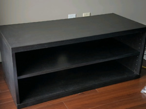 Ikea Black brown tv stand for sale