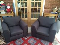 Stunning Matching Pair Of John Lewis Luxury Armchairs