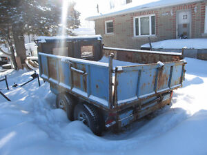 Dump Trailer For Sale asking $2200 OBO