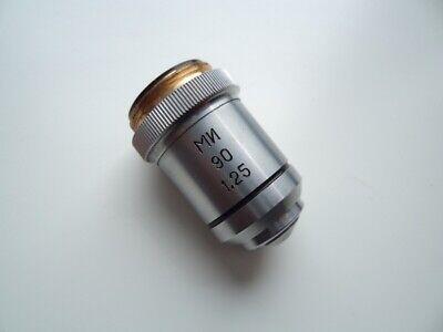 Lens Fa 90125 Mi Phase-darkfield Contrast Lomo Microscope For Condenser Mfa