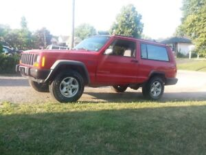 1998 Jeep Cherokee 4.0L 5speed   For sale or trade