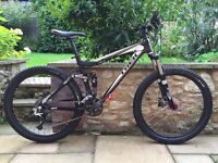 Trek ex8 full suspension downhill mountain bike will post