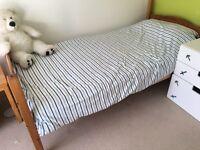 Habitat Solid Pine Bunk Bed - good condition