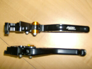 PAZZO SHORTY ADJUSTABLE RACING LEVERS FOR SUZUKI HAYABUSA Cambridge Kitchener Area image 3