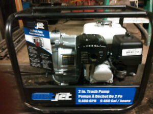 2 inch Honda gas powered water transfer pump - trash pump