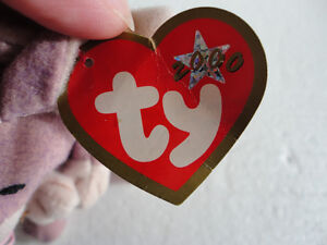 NWT TY Springy The Lavendar Bunny plush toy beanie baby London Ontario image 2