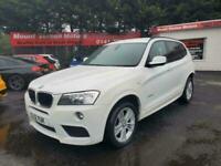 2012 BMW X3 2.0 20d M Sport xDrive 5dr Auto SUV Diesel Automatic