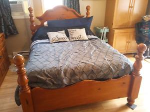 Full Bedroom Set - excluding mattress