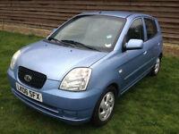 2006 KIA PICANTO 1.1L LEFT HAND DRIVE (LHD) UK REG DIESEL