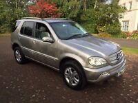 Mercedes Benz ml270cdi auto special edition 54reg winter is coming luxury motoring