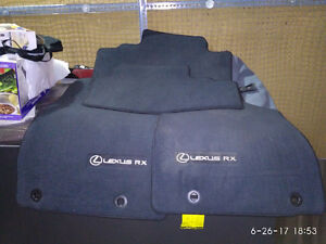 Lexus RX350 /450 2010 - 2013 carpet floor mat - Black - new