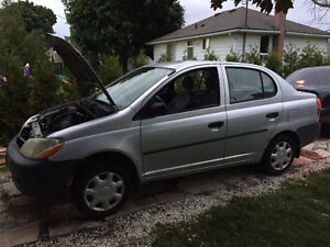 2002 Toyota Echo Full PART OUT 1NZ-FE 280 000km Silver Stratford Kitchener Area image 1