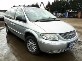 2002 CHRYSLER GRAND VOYAGER LIMITED NOW BREAKING FOR PARTS