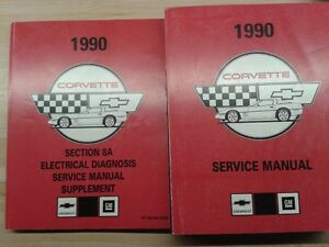 1990 Chevrolet Corvette Shop Manuals